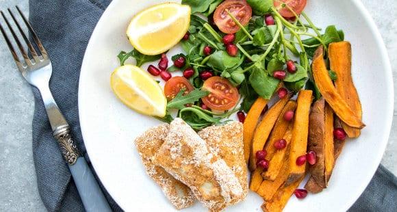 Fingers de Pescado con Patatas | Comida Saludable