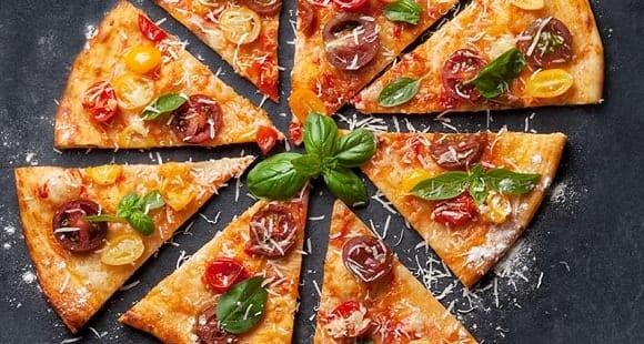 Infográfico| ¿Cómo hacer una Pizza Casera Fitness?