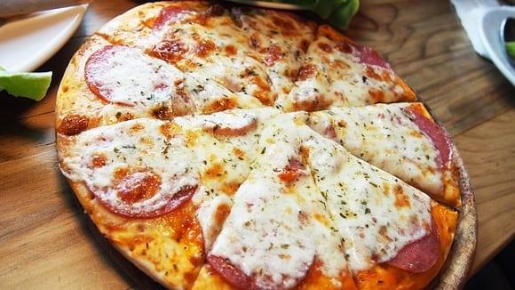 pizzas como comidas trampa