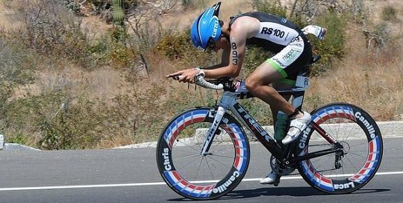 triatlón xterra en bici