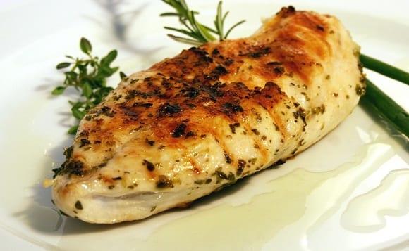 pechuga de pollo a la plancha