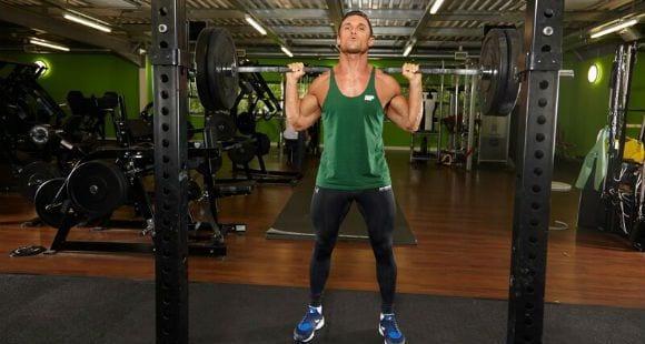 entrenamiento de pesas intenso
