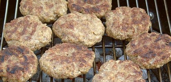 hamburguesas a la barbacoa