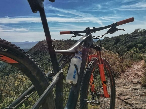 proteína en el ciclismo