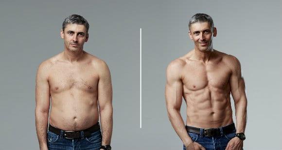 Ben Jackson antes y después