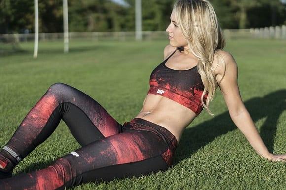 tops y leggings myprotein a juego