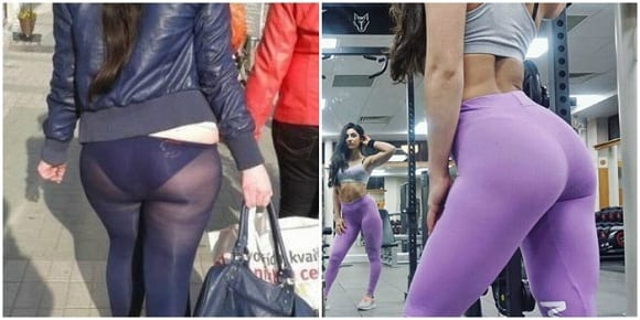 Leggings MyProtein transparencias