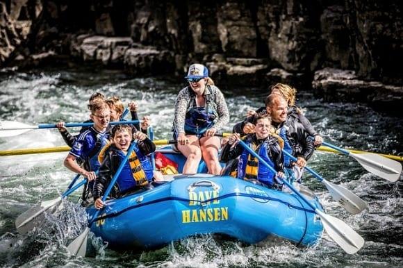 Rafting deportes de aventura