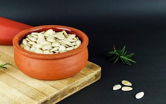 semillas de calabaza crudas