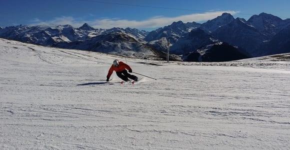 el esquí es de los deportes más difíciles