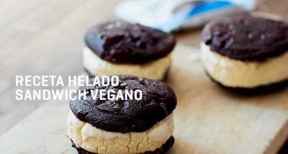 Sándwich Helado de Cookies | Receta Vegana