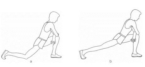 extensión para estirar el psoas