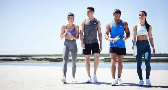 beneficios de correr en la playa