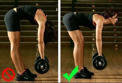 peso muerto para entrenar espalda en casa