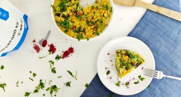 Pastel de verduras rápido | Receta Saludable