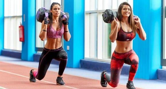 zancadas para body pump