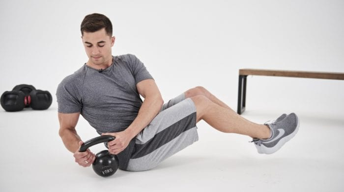 10 ejercicios para hacer con pesas rusas o kettlebell