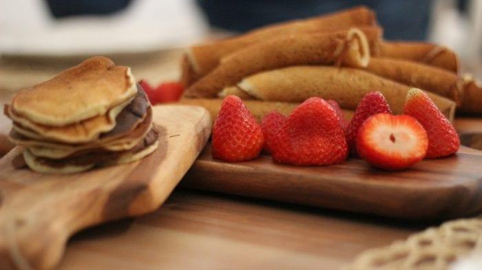 Bizcocho de Chocolate y Fresa