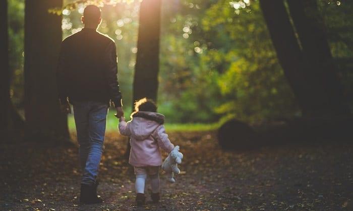 caminar es de los mejores ejercicios para niños