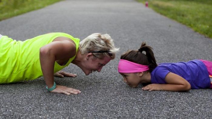 ¿Cuáles son los mejores Ejercicios para hacer con tus Hijos?