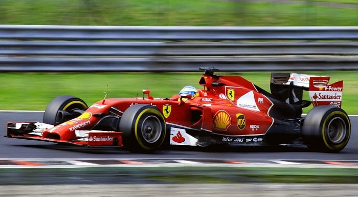 piloto de fórmula 1