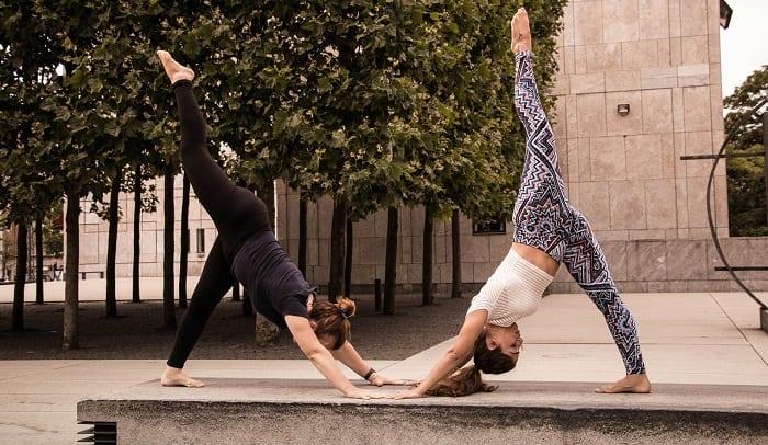 el yoga aéreo