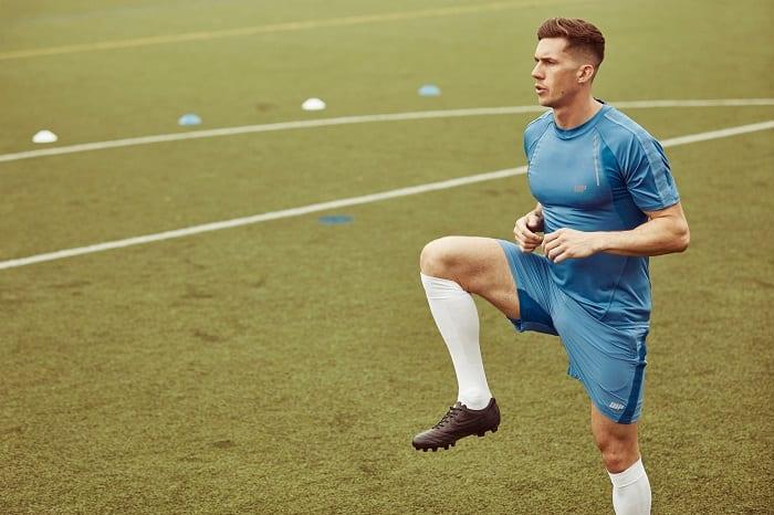 los mejores ejercicios de calentamiento de fútbol