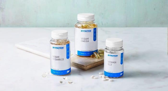 vitamina B12 vegana de Myprotein