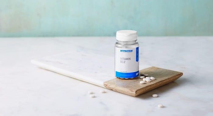 Vitamina B12 vegana Myprotein
