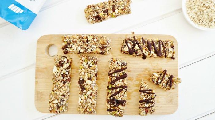 Barritas Energéticas sin Gluten Caseras | Receta Fácil