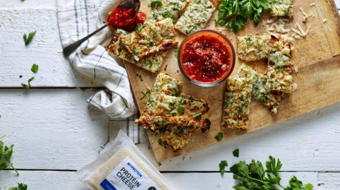 Pan de Ajo y Coliflor | Receta Fácil Baja en Hidratos de Carbono