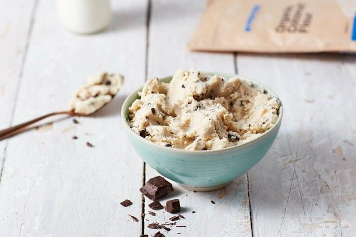 masa para galletas veganas