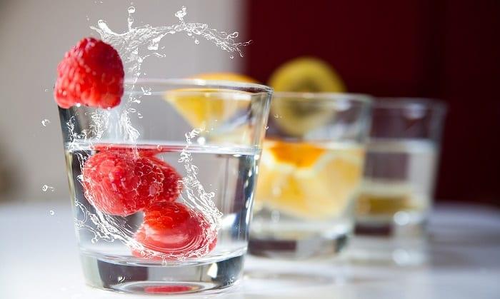 bebidas saludables como el vodka
