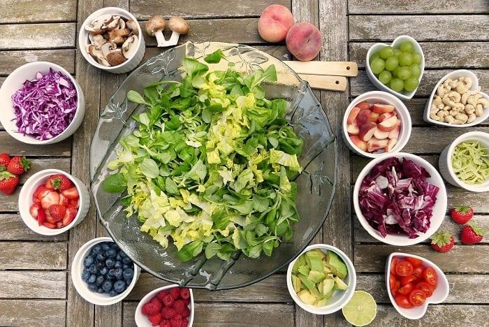 dieta de 1800 calorías saludable