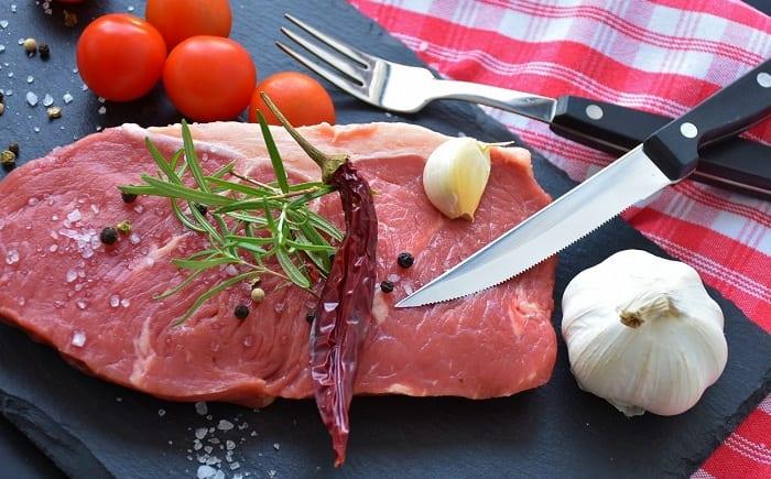 alimentos con proteínas carne
