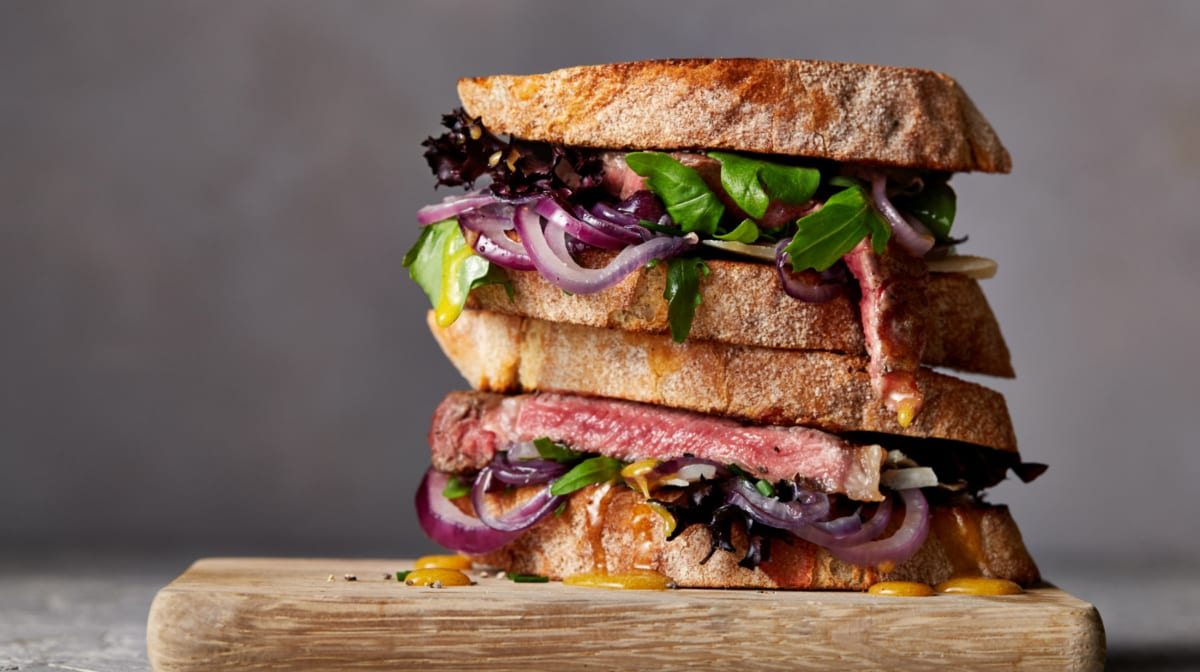 Sándwich de Ternera para ganar masa muscular