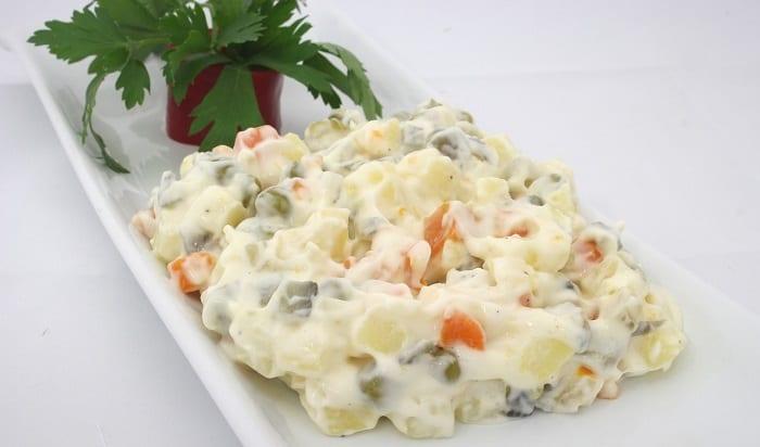 ensaladilla rusa y los mejores tipos de ensaladas