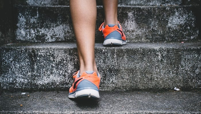 5 ejercicios en escaleras