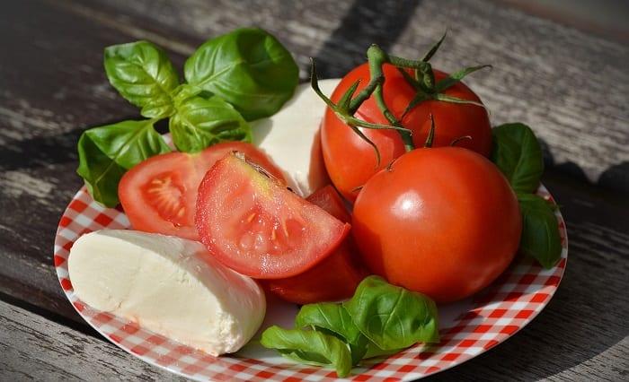 ensaladas para perder peso - caprese