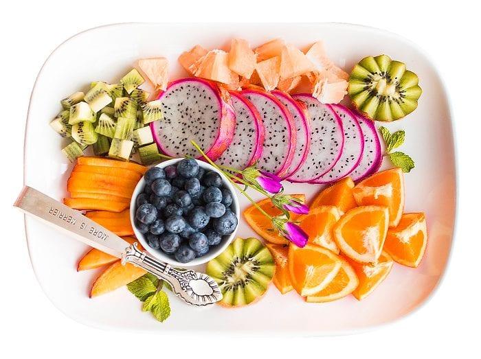 calorías de las frutas