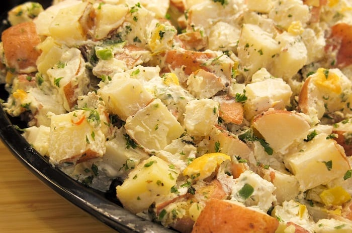 ensaladas para perder peso de patata