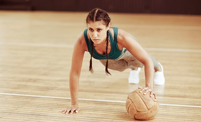 rutina para entrenar bíceps en casa