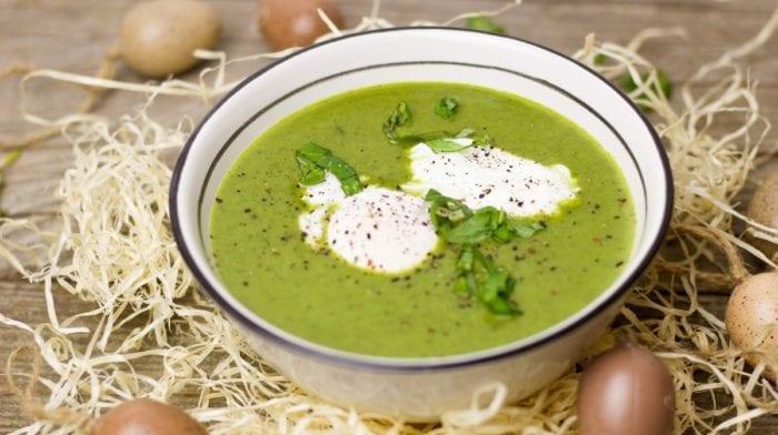 Crema de espinacas | Receta vegetariana fácil de preparar