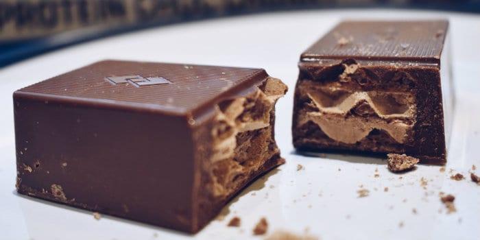 barrita de chocolate