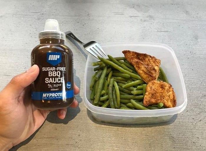 salsa sin azúcar