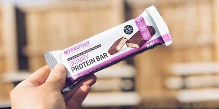 skinny protein bar