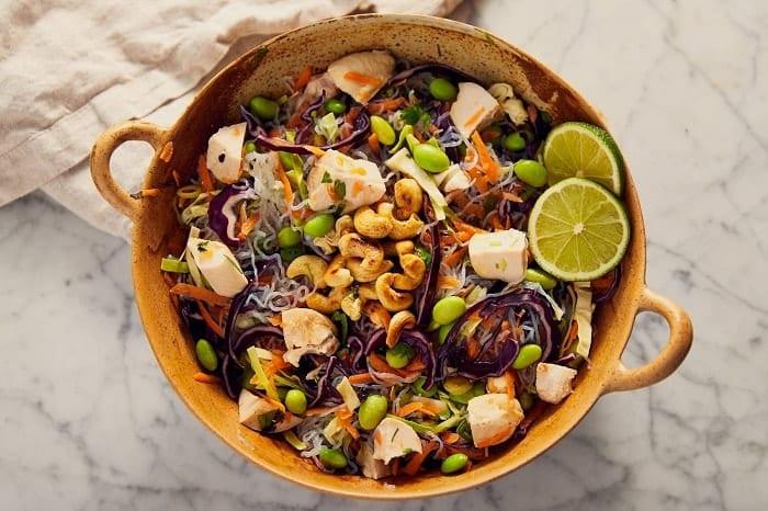 ensalada thai low carb