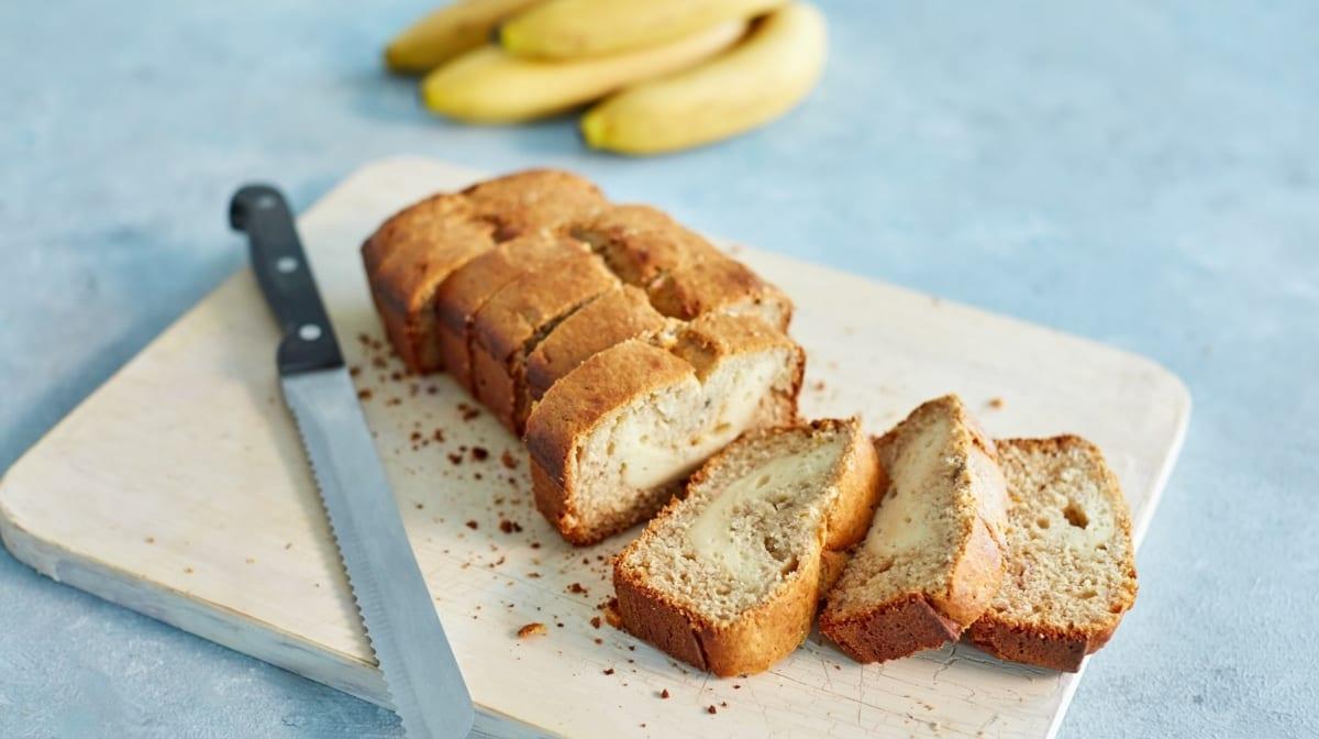 Pan de plátano para ganar masa muscular
