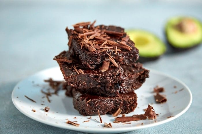 Brownie proteico cremoso