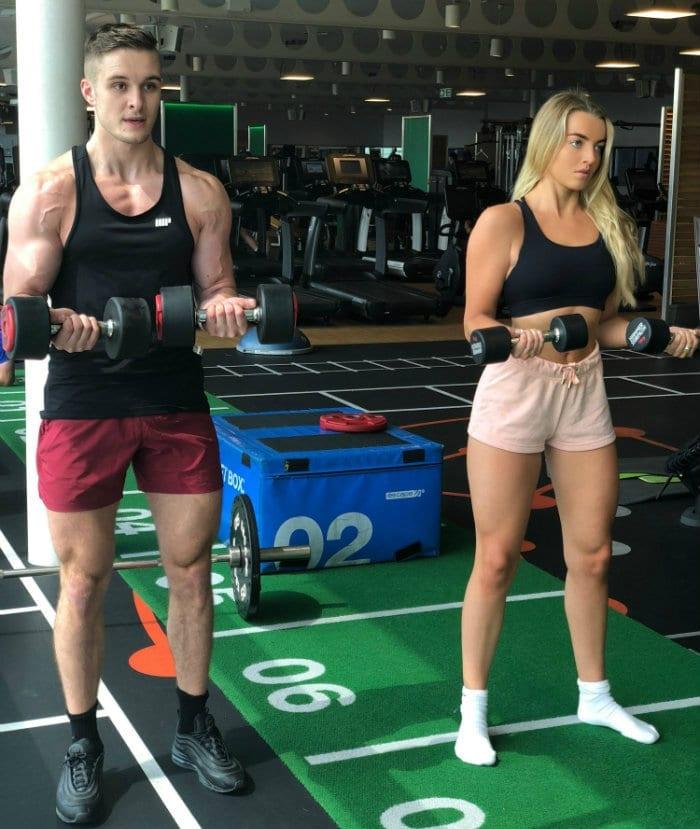 entrenar en pareja beneficios